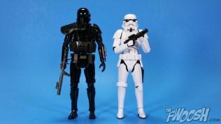 Bandai Star Wars Rogue One Model Kit Death Trooper Comparison 02