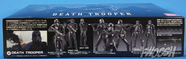 Bandai Star Wars Rogue One Model Kit Death Trooper Package 02