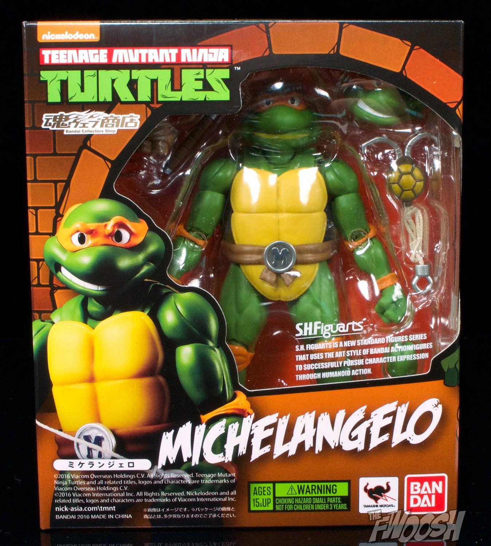 Bandai S H Figuarts Teenage Mutant Ninja Turtles Raphael