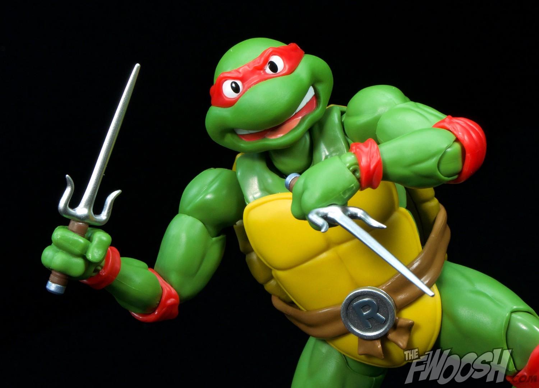 Sh Figuarts Tmnt Raphael Review Action 5 Fwoosh