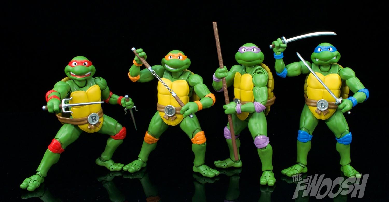 Sh Figuarts Tmnt Raphael Review Turtle Group