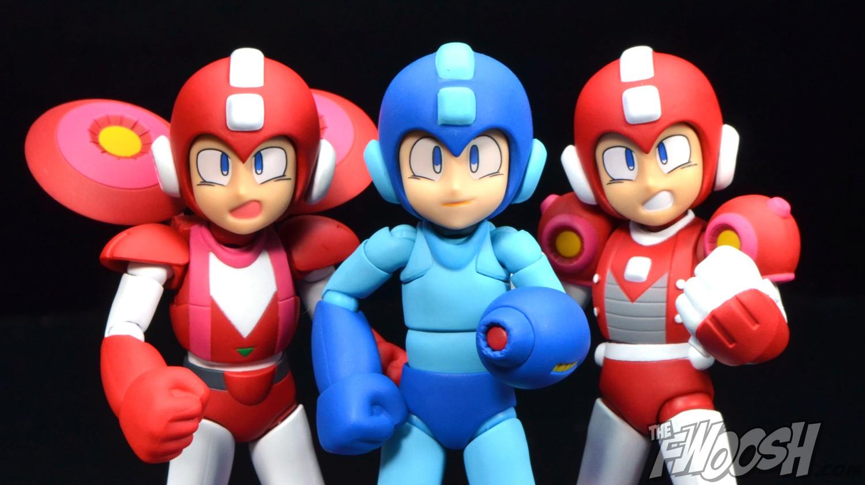 Sentinel: Four Inch-Nel Jet & Power Mega Man | The Fwoosh