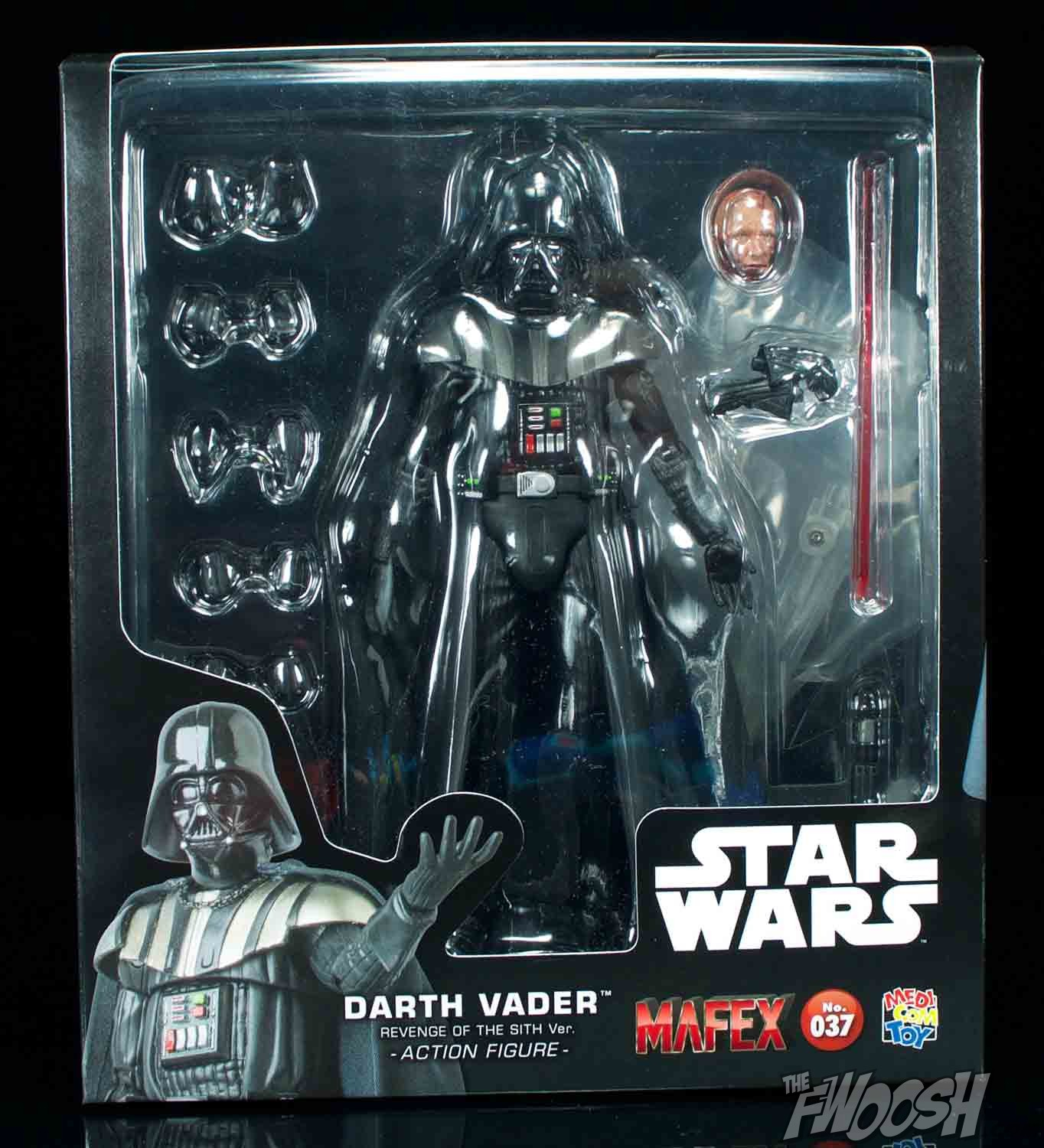 Medicom Mafex Star Wars Revenge Of The Sith Darth Vader