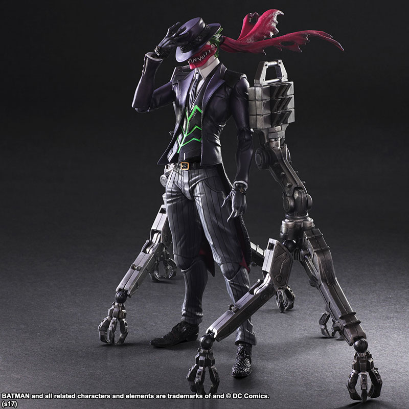 Square Enix Variant Play Arts Kai Joker Designed By Tetsuya Nomura The  Fwoosh Room Kai Paly Dezine
