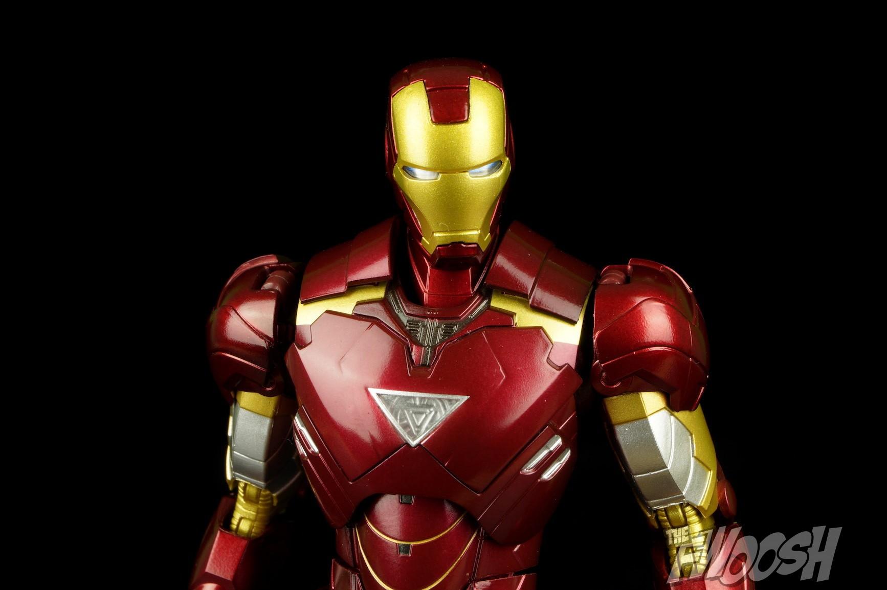 bandai sh figuarts iron man 2 mark vi hall of armor