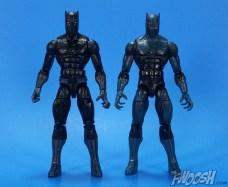 Hasbro Marvel Legends Black Panther Walmart Exclusive Comparison 01