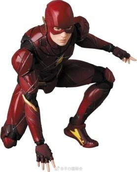 Medicom MAFEX Justice League Flash Promo 06