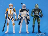 with Black Series Commander Cody and Gree