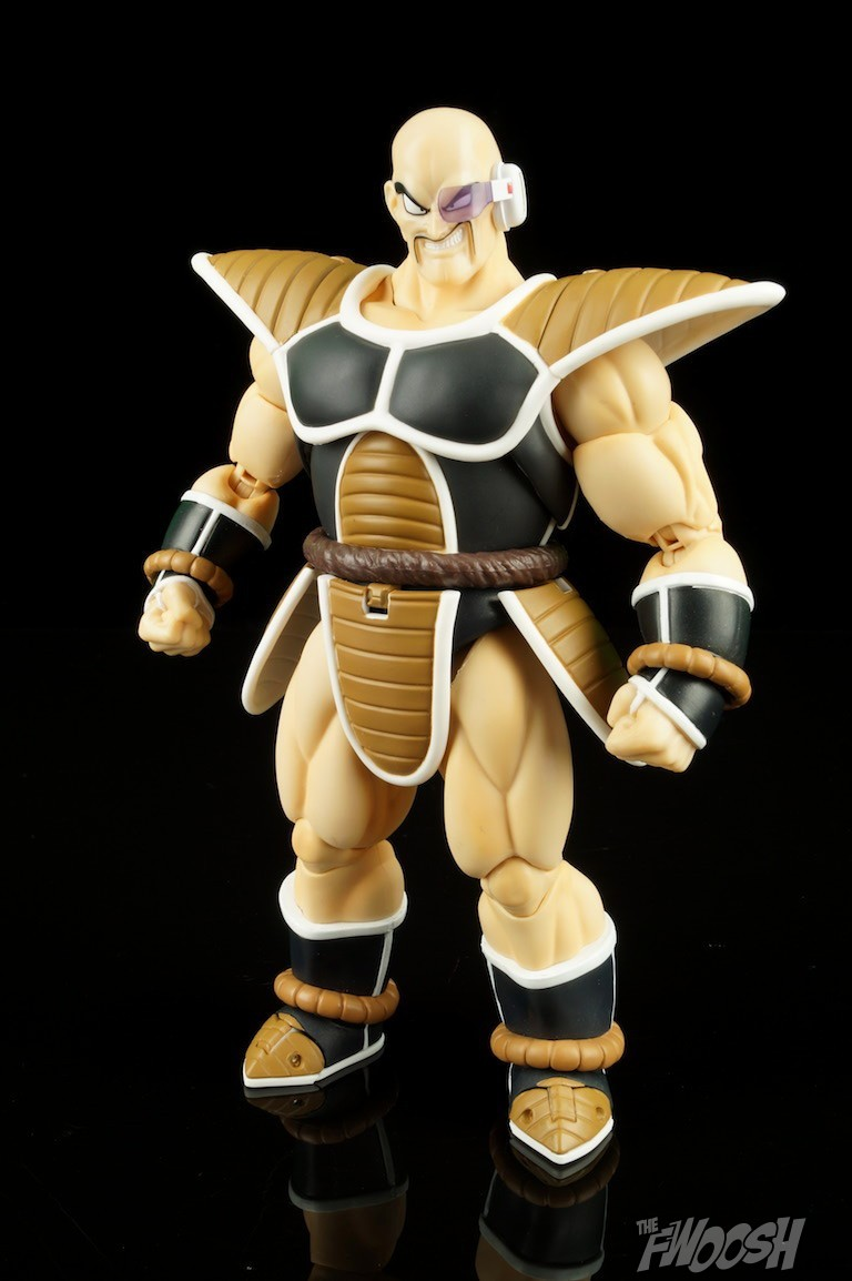 S H E Together Forever Hebe: S.H. Figuarts Dragon Ball Z Nappa Review