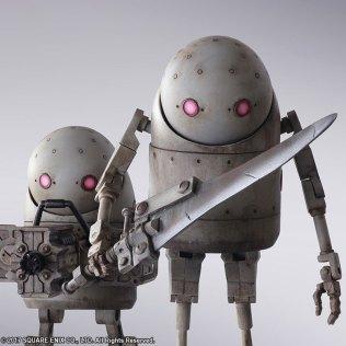 Square Enix BRING ARTS NieR Automata Machine Set Promo 09
