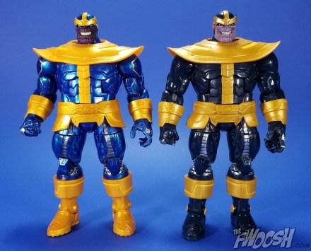 Hasbro Marvel Legends Avengers Thanos Walmart Exclusive Comparison 02