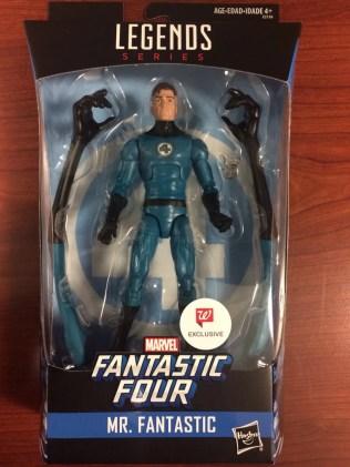 Hasbro Marvel Legends Fantastic Four Mr Fantastic Walgreens Exclusive Found Capman 01