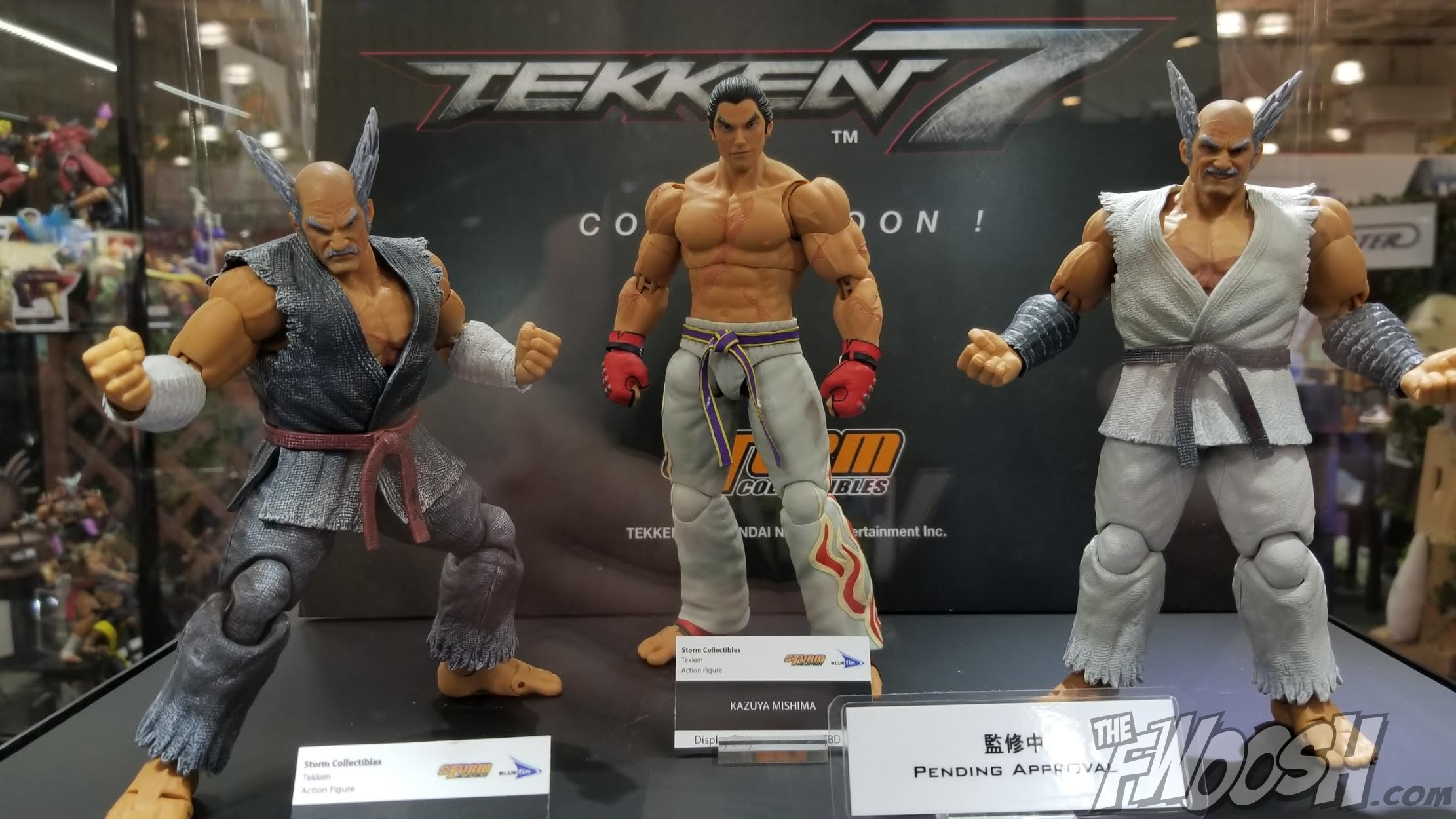 Toy Fair 2018 Storm Collectibles Fwoosh