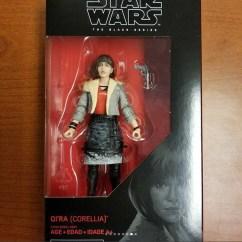 Hasbro Star Wars Black Series Qira in Package