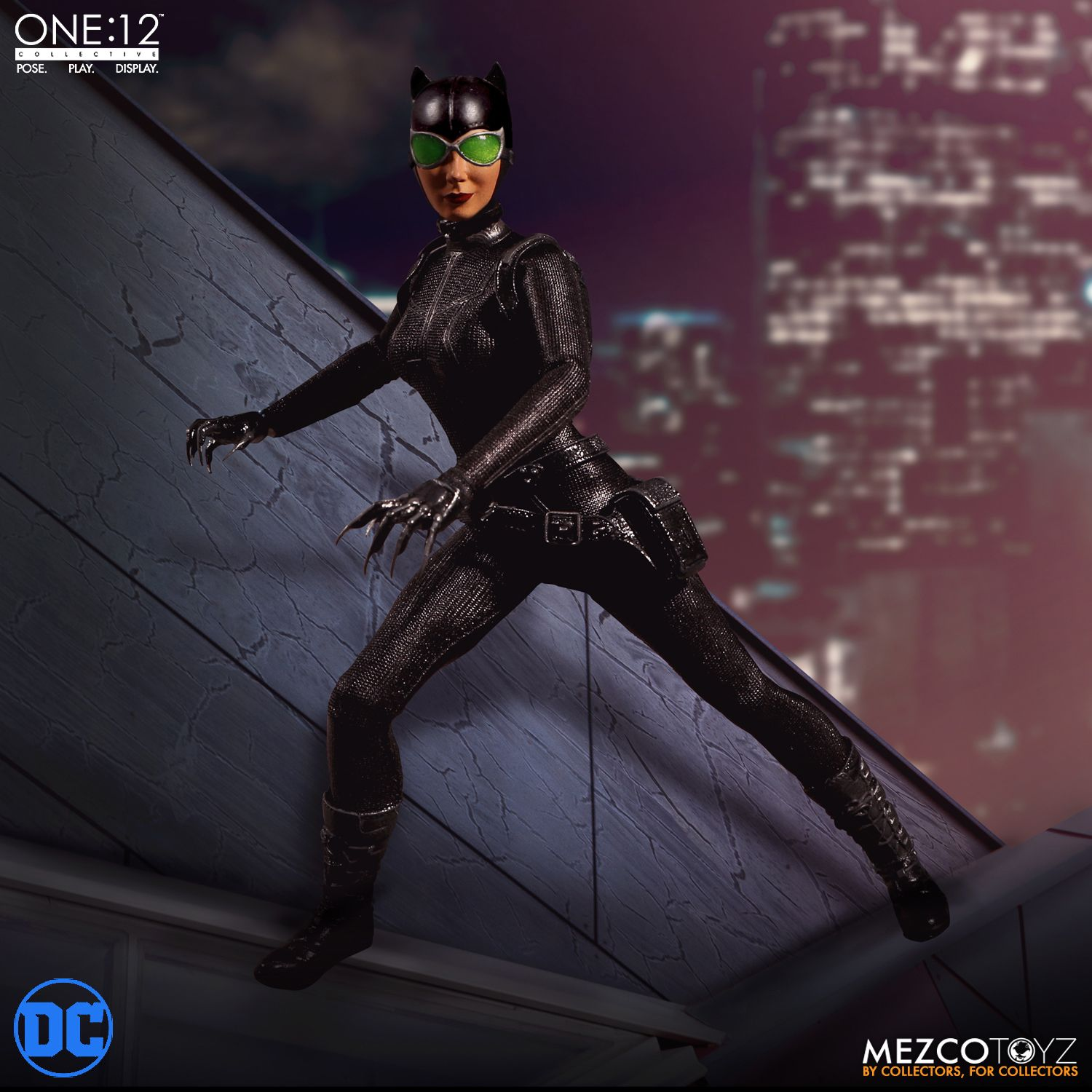 Mezco One12 Collective Dc Comics Catwoman Promotional Images And