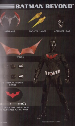 Mezco Toy Fair Catalog One12 Collective Batman Beyond 02