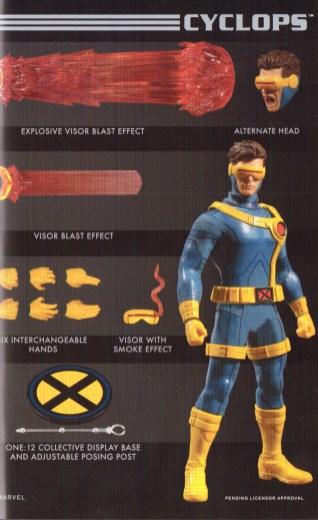 Mezco Toy Fair Catalog One12 Collective Cyclops 02