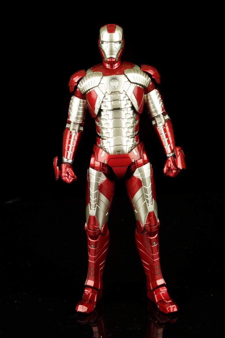 Bandai S H  Figuarts Iron Man Mark V Review |