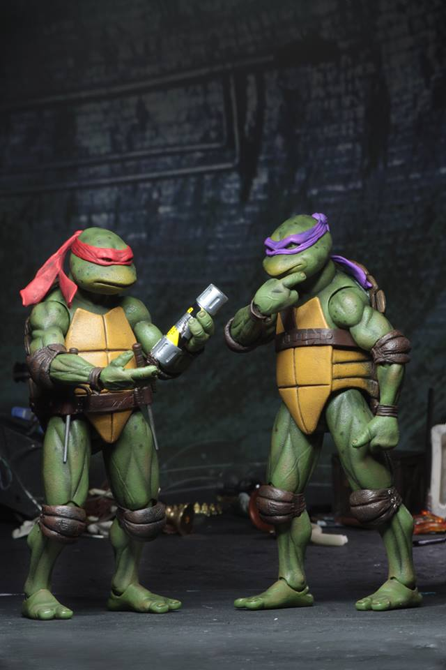 Neca Sdcc Exclusive 7 Scale 1990 Movie Teenage Mutant Ninja Turtles Sets Reveal Fwoosh