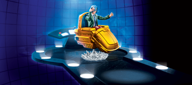 2019 MARVEL LEGENDS SERIES VEHICLES WAVE 1 (Professor X & Hover Chair)