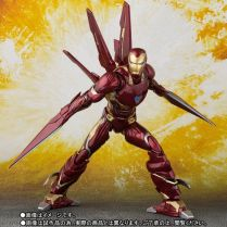 Bandai SH Figuarts Avengers Infinity War Iron Man Mark 50 Nano Weapons Edition Promo 02