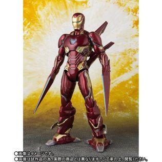 Bandai SH Figuarts Avengers Infinity War Iron Man Mark 50 Nano Weapons Edition Promo 03