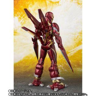 Bandai SH Figuarts Avengers Infinity War Iron Man Mark 50 Nano Weapons Edition Promo 05