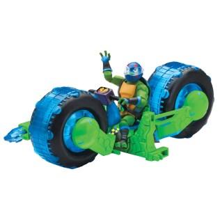 Playmates Toys Rise of the Teenage Mutant Ninja Turtles Shellhogs with Leonardo Promo 01