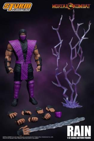 Storm Collectibles NTCC Exclusive Mortal Kombat Rain Promo 10