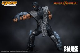 Storm Collectibles NTCC Exclusive Mortal Kombat Smoke Promo 05