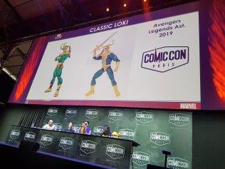 Hasbro Marvel Legends Classic Loki Reveal Paris Comic Con 01
