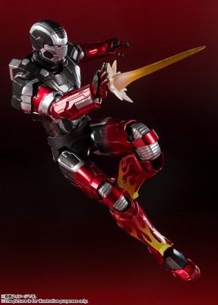 Bandai Spirits Tamashii Nations SH Figuarts Marvel Iron Man MKXXII 22 Hot Rod Promo 05