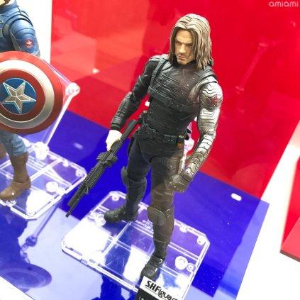 Bandai Tamashii Nations Tokyo Comic Con 2018 SH Figuarts Captain America Winter Soldier Bucky 02