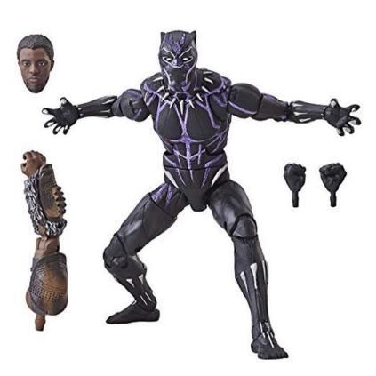 Marvel Legends Black Panther Series 2 Vibranium Black Panther New Promo 01