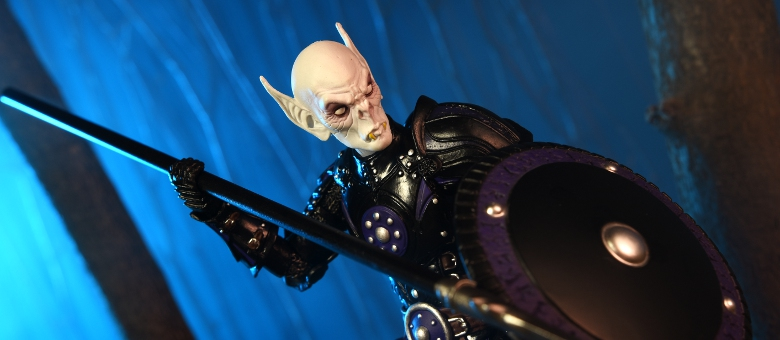 Custom Head Vampire Knight Compatible with Mythic Legions 1.0 by Four Horsemen