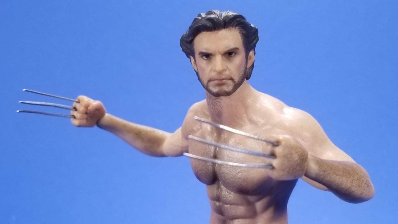 1//6 Scale Toy The Wolverine Hand Set w//Bone Claws