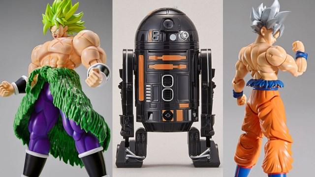 New Bandai Figure-rise Dragon Ball and Star Wars Model Kits Arriving