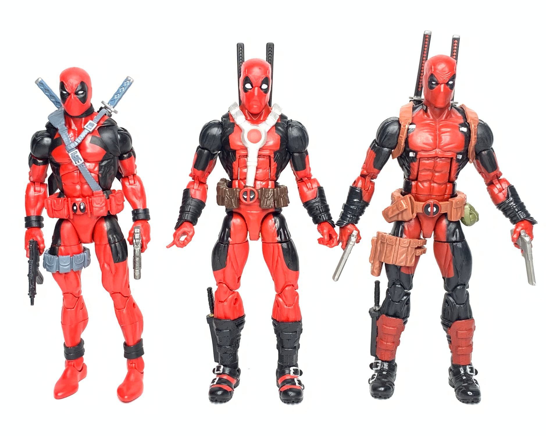 """MARVEL LEGENDS DEADPOOL WITH SCOOTER 6/"""" ACTION FIGURE"""