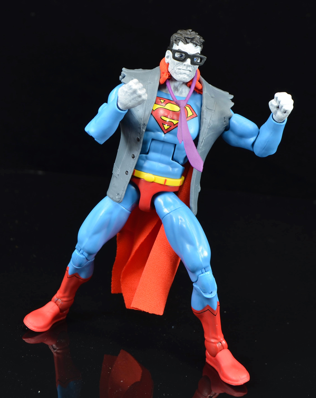 DC Multiverse Bizarro SUPERMAN figure Walgreens exclusive