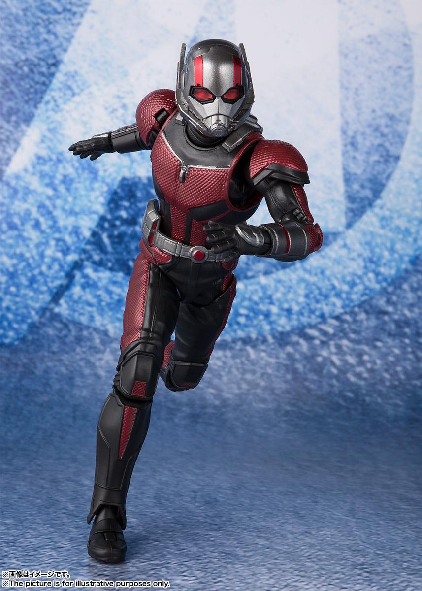 Bandai Tamashii Nations SH Figuarts Avengers Endgame Ant-Man promo 01