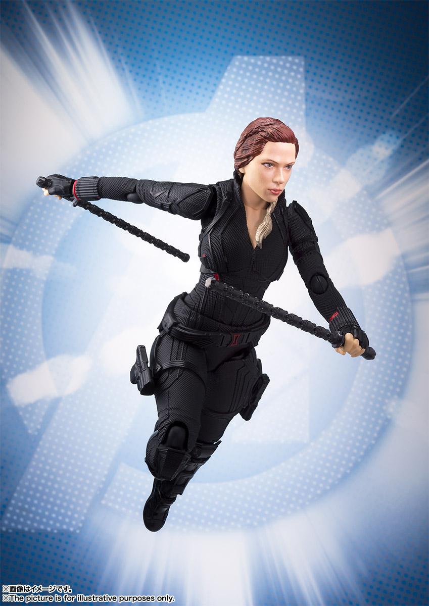 Bandai Tamashii Nations SH Figuarts Avengers Endgame Black Widow promo 05
