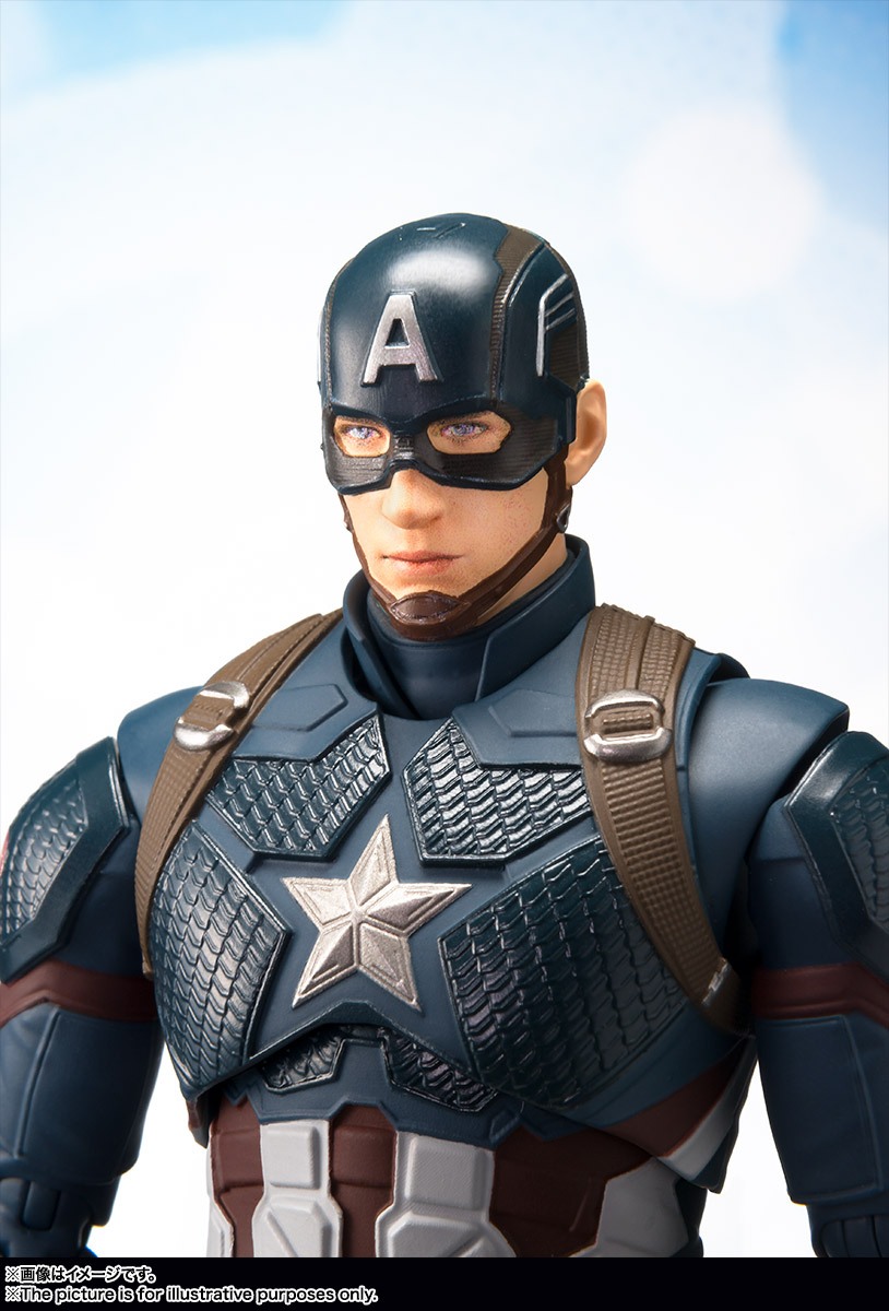 Bandai Tamashii Nations SH Figuarts Avengers Endgame Captain America promo 09