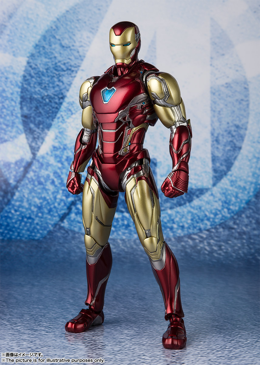 Bandai Tamashii Nations SH Figuarts Avengers Endgame Iron Man Mark 85 promo 01