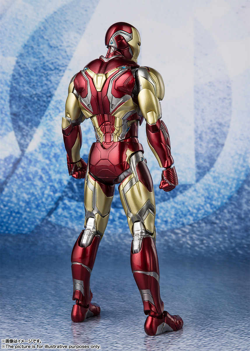 Bandai Tamashii Nations SH Figuarts Avengers Endgame Iron Man Mark 85 promo 02