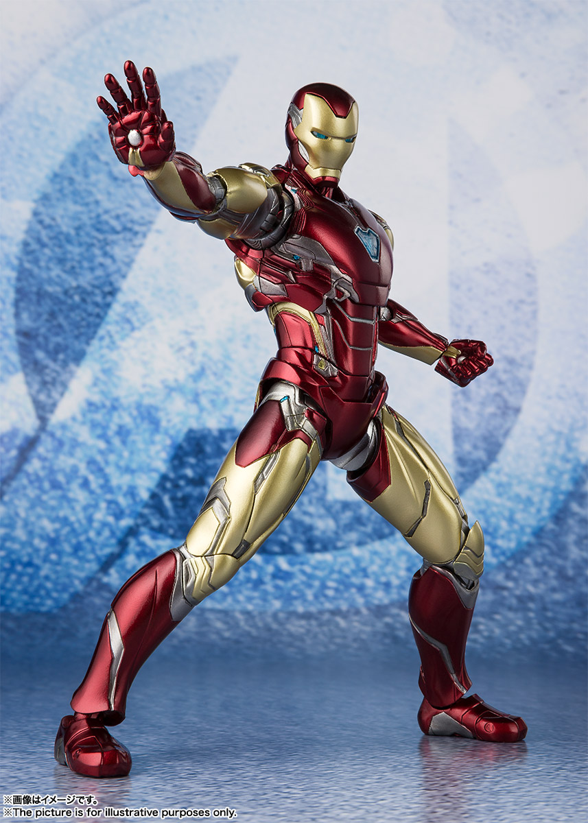 Bandai Tamashii Nations SH Figuarts Avengers Endgame Iron Man Mark 85 promo 03