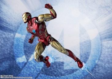Bandai Tamashii Nations SH Figuarts Avengers Endgame Iron Man Mark 85 promo 04