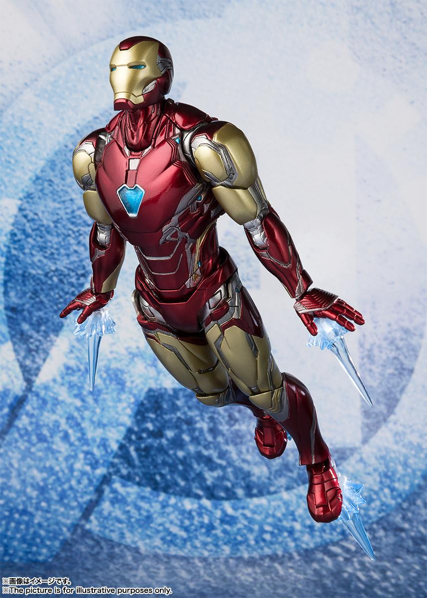 Bandai Tamashii Nations SH Figuarts Avengers Endgame Iron Man Mark 85 promo 05
