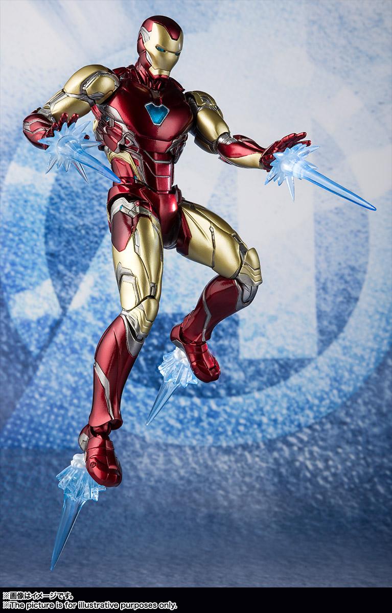 Bandai Tamashii Nations SH Figuarts Avengers Endgame Iron Man Mark 85 promo 06
