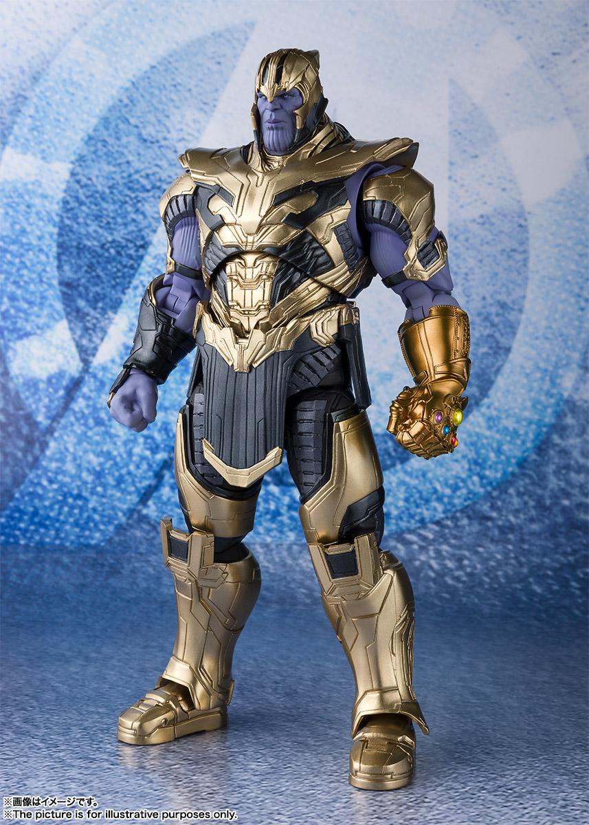 Bandai Tamashii Nations SH Figuarts Avengers Endgame Thanos promo 03