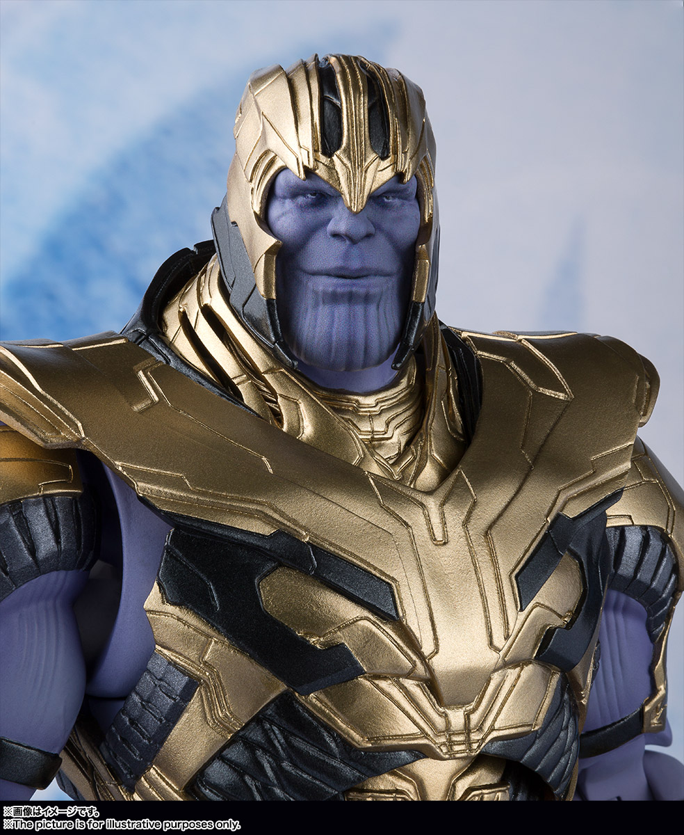 Bandai Tamashii Nations SH Figuarts Avengers Endgame Thanos promo 08